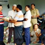 Warga Jetak Korban Banjir Terima Sembako