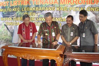 Gubernur: PLTMH Untuk Listrik Pedesaan