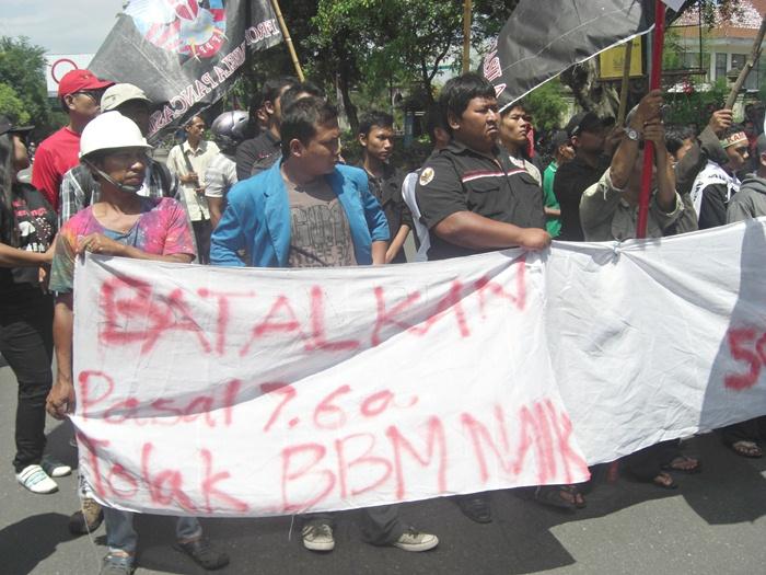 Demo Tolak SBY ke Solo