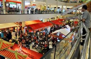 Nuansa oriental Kampoeng Tiongkok di Solo Paragon Lifestyle Mall