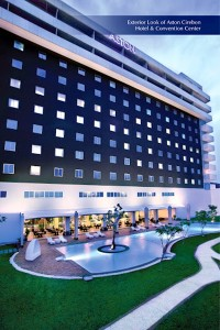 Tampak Luar dari Aston Cirebon Hotel & Convention Center