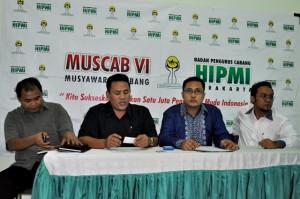 Steering Comite Muscab Hipmi Solo, saat menerima Calon Kandidat