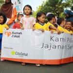 Bebaskan Buta Gizi, Rumah Zakat Solo Gelar Aksi Hari Gizi Nasional
