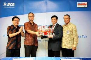 MoU BCA dan Franchise Alfamart