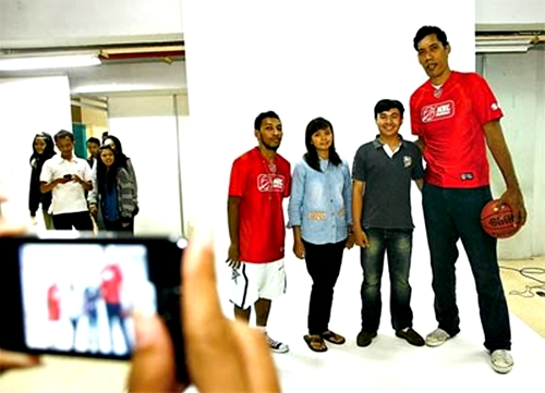 Meet and Great Team NBL  di Solo Paragon Lifestyle Mall