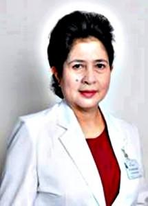 Prof. DR. Dr. Nila Moeloek SpM. Ketua Umum Persatuan Dokter Spesialis Mata Indonesia (Perdami)