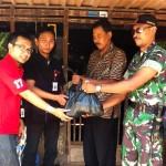 Telkomsel Berikan Paket Sembako, Korban Banjir Grobogan