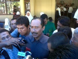Hadi Prabowo saat sosialisasi di Wonogiri