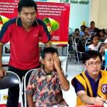 CSR Alfamart, 140 Anak Periksa Mata Gratis