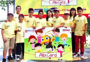 Alfamart saat meluncurkan Albi Card