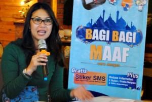 Regional Sales Operation Manager (RSOM ) XL DI Yogyakarta Hiasinta H. Paembonan