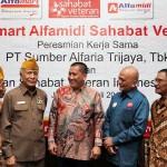 Alfamart Alfamidi Launching Sahabat Veteran