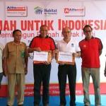 Alfamart Alfamidi Luncurkan Program Rumah untuk Indonesia