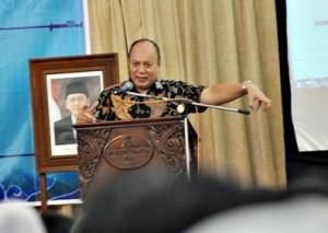 Deputi Bidang Pengembangan SDM Kementerian Koperasi dan UKM, Prakoso Budi Susetio