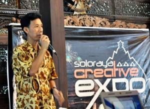 David R Wijaya, Ketua Soloraya Creative Expo 2013