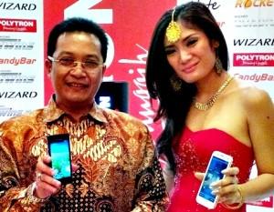 Santo Kadarusman, PR dan Even Manager Polytron, polytron serius garap pasar-smartphone