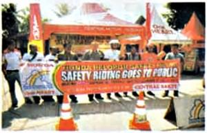 Pratama Kurnia Kasih Motor, Safety Riding Goes to School