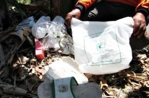 Temuan sampah RSIS di TPA Mojosari