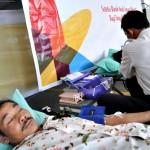 46 Tahun Indosat, Donor Darah & Gowes Amal
