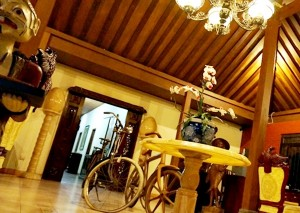 lobby alam jogja resort