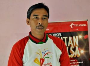 Rukmono Cahyadi , GM Sales and Customer Care Telkomsel Region Jawa Tengah-DIY