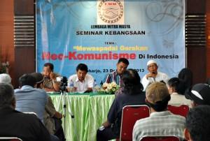 Suasana seminar Mewaspadai Gerakan Neo-Komunisme di Indonesia