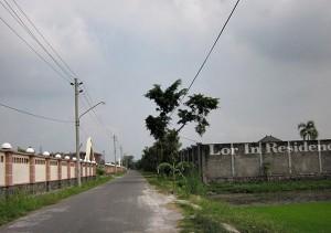 Kawasan Lor In Residence salah satu aset Mantan Bupati Karanganyar