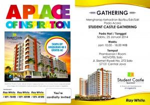 student castle gathering