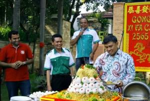 Tumpeng Bakmi 15th Lorin Solo Hotel -