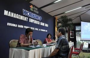 Workshop Manajemen Supervisi Bank Solo, di Kusuma Sahid Prince Hotel