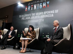 Keynote speaker Dr. Mari Elka Pangestu, Minister of Tourism and Creative Economy Indonesia
