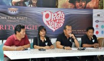 Press Conference even 'Oray for Kelud' di Cafe Tiga Tjeret, Rabu (26/2/2014)