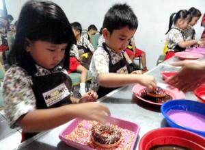 Peserta Cooking Class  Donat boys