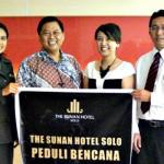 The Sunan Hotel Peduli Bencana