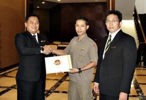 Edi Pamungkas Karyawan Terbaik The Sunan Hotel Solo