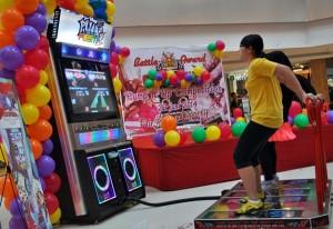 'Battle King's Fun Award - Pump It Up Competition' yang dihelat di atrium Hartono Lifestyle Mall, Sabtu-Minggu (21-22/6/2014)