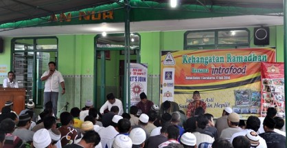 Sambutan Reza Wijaya Manajer Marketing & Horeca Intrafood