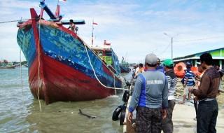 Kapal Ikan Nelayan di Pati