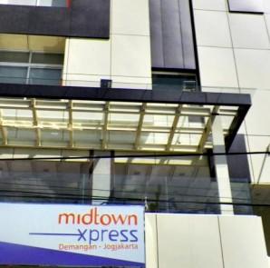 Exterior Midtown Xpress Demangan Jogja Hotel