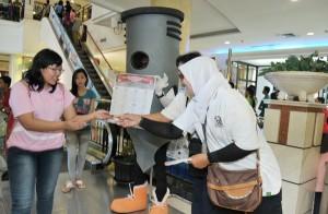 Sosialisasi Pemilu  oleh KPU di Mall beberapa waktu lalu