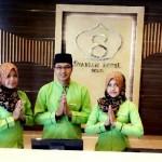 Hijab Batik Di Hari Batik Syariah Hotel Solo