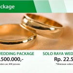 Syariah Hotel Solo Tawarkan Wedding Package Ekslusif