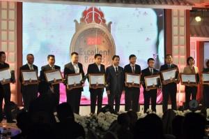 Penyerahan Penghargaan Excellent Brand Award 2014, TATV di Ballroom Lorin Hotel Solo. Rabu (5/11/2014)