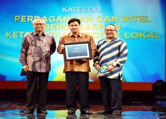 Alfamart Raih Economic Challenges Award 2014
