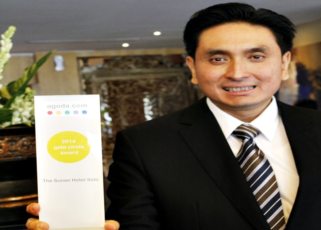 Sunan Hotel Solo 'Sabet' Gold Circle Award
