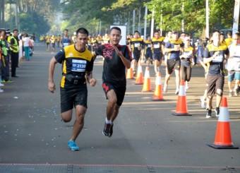 Peserta Wonogiri Half Marathon Protes