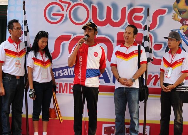 Gowes Sehat Bersama Alfamart Walikota