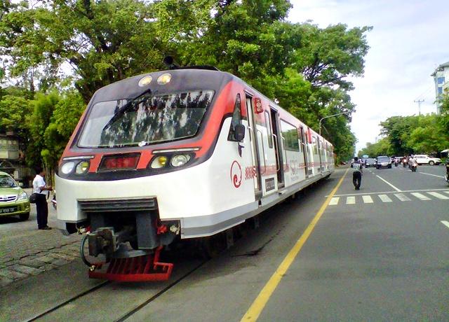 Railbus Batara Kresna Siap Meluncur