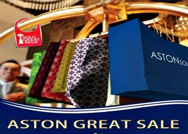 Aston Great Sale, Diskon 60 %