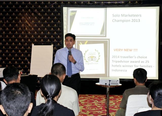 Sunan Hotel Solo Training Karyawan